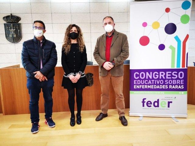 El CPEIBAS Guadalentín de El Paretón acogerá el 30 de abril el VI Congreso Educativo de Enfermedades Raras, Foto 1