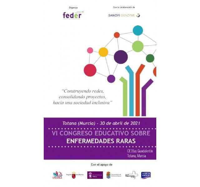 El CPEIBAS Guadalentín de El Paretón acogerá el 30 de abril el VI Congreso Educativo de Enfermedades Raras, Foto 2
