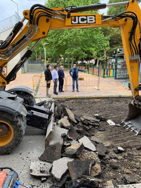 Comienzan las obras de adecuación del entorno de la calle Bartolomé Ródenas - 3, Foto 3
