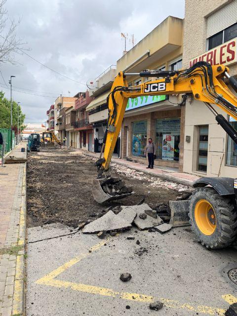 Comienzan las obras de adecuación del entorno de la calle Bartolomé Ródenas - 5, Foto 5