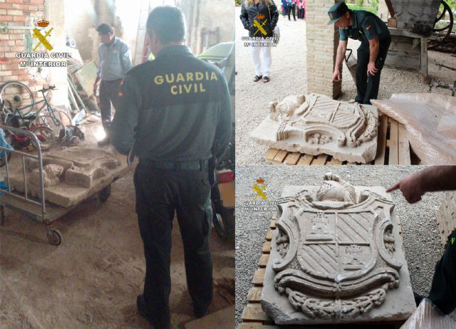La Guardia Civil localiza un escudo heráldico del siglo XVIII declarado Bien de Interés Cultural - 3, Foto 3