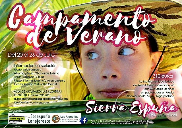 Se abre el plazo para participar en los Campamentos de Verano en Sierra Espuña 2017, Foto 1