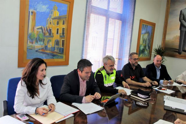 La Junta Local de Seguridad se reunió en Alcantarilla - 2, Foto 2