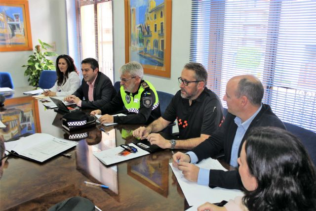 La Junta Local de Seguridad se reunió en Alcantarilla - 3, Foto 3