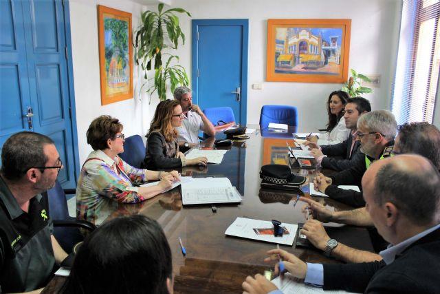 La Junta Local de Seguridad se reunió en Alcantarilla - 5, Foto 5