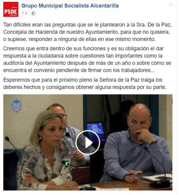 PP: El Partido Socialista de Alcantarilla no conoce el Reglamento Orgánico de su propio Ayuntamiento - 1, Foto 1