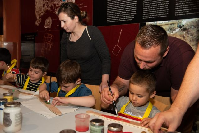 Talleres en familia y música en la Factoría Romana para celebrar el día de los museos, Foto 2