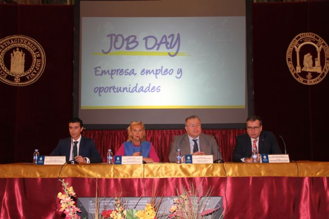 Más de 40 empresas se dan cita en el Job Day de la UCAM - 1, Foto 1