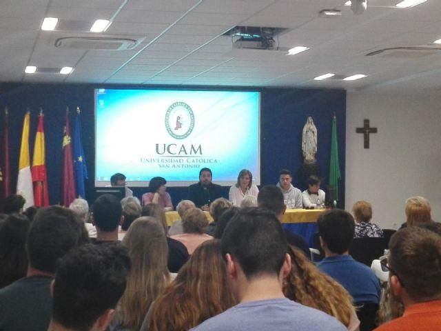 El Campus de la UCAM en Cartagena, centro de peregrinación con motivo de la visita de la Virgen de Lourdes - 3, Foto 3