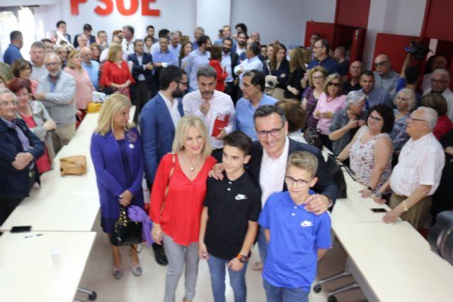 Diego Conesa: Quiero liderar un tiempo nuevo en la Región de Murcia para dar soluciones reales a las necesidades de nuestros vecinos y vecinas - 1, Foto 1