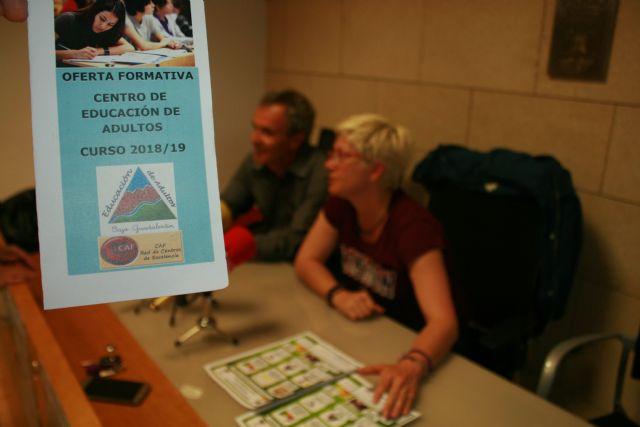 Se abre el plazo de matrícula para toda la oferta formativa en el Centro de Educación de Adultos