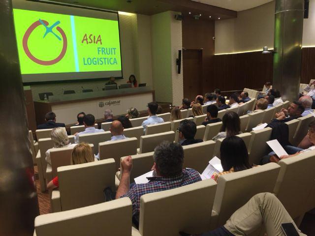 Más de un centenar de empresas de la Región exportaron sus productos hortofrutícolas el pasado año al mercado asiático por 27,4 millones de euros - 1, Foto 1