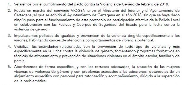 MC corregirá con su Programa de Gobierno las lagunas de Castejón en la lucha contra la violencia de género - 1, Foto 1