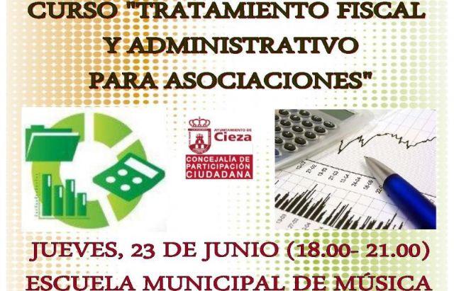 La Concejalía de Participación organiza el curso 'Tratamiento fiscal y administrativo para asociaciones' - 1, Foto 1