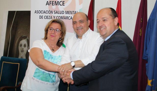 Usuarios de Afemce harán prácticas formativas laborales en el Ayuntamiento de Cieza - 1, Foto 1