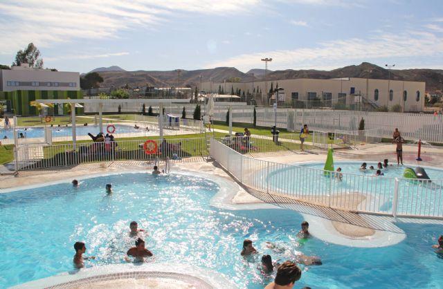Ya están abiertas las piscinas de verano en Puerto Lumbreras - 1, Foto 1