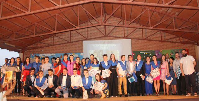 Los alumnos de Bachillerato del IES Rambla de Nogalte se gradúan - 1, Foto 1
