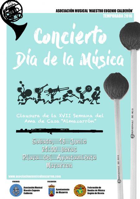 La Asociación Maestro Eugenio Calderón celebra este sábado el Día Internacional de la Música - 1, Foto 1