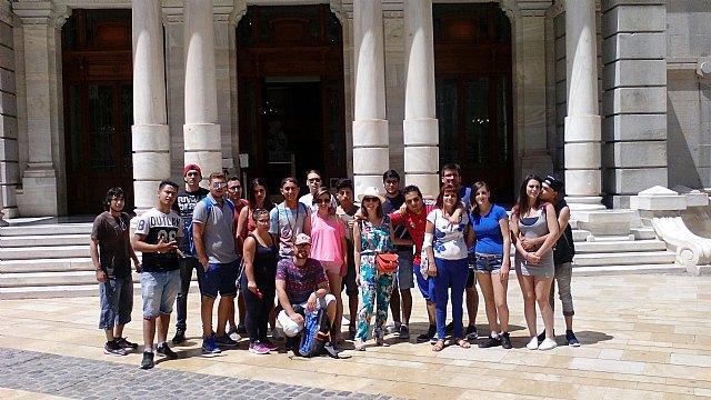 Jóvenes del Proyecto Labor 2.0: Garantía Juvenil visitan Cartagena, Foto 2