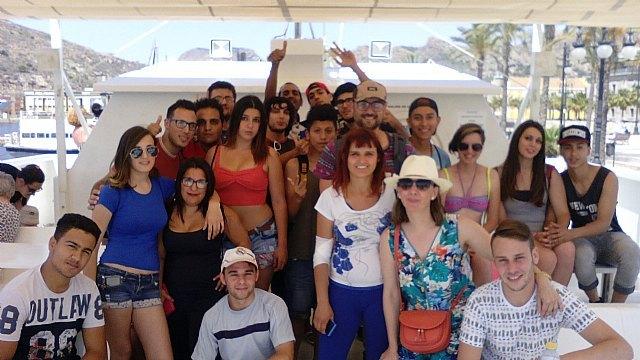 Jóvenes del Proyecto Labor 2.0: Garantía Juvenil visitan Cartagena, Foto 3