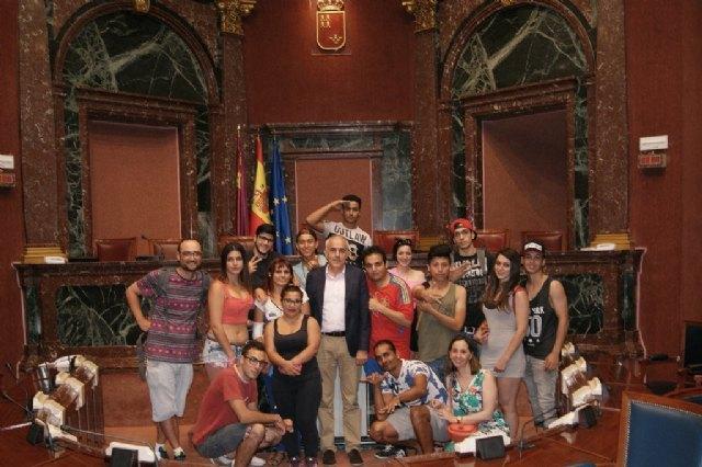 Jóvenes del Proyecto Labor 2.0: Garantía Juvenil visitan Cartagena, Foto 4