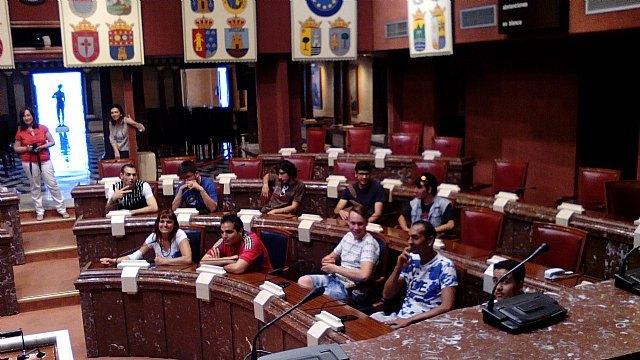 Jóvenes del Proyecto Labor 2.0: Garantía Juvenil visitan Cartagena, Foto 5