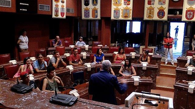 Jóvenes del Proyecto Labor 2.0: Garantía Juvenil visitan Cartagena, Foto 6