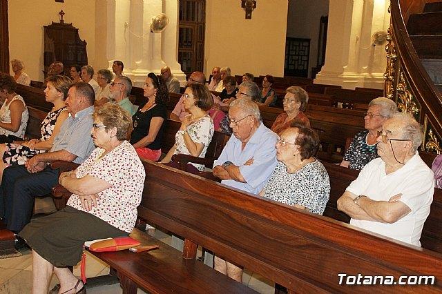 Arrancan las actividades que conforman el 450 aniversario de la dedicación del templo parroquial de Santiago con la Conferencia El misterio del Templo a lo largo de la historia de la salvación, Foto 3
