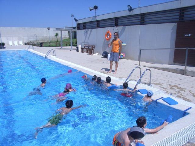 Mañana 17 de junio comienza la temporada de las piscinas en el Complejo Deportivo Guadalentín, Foto 1