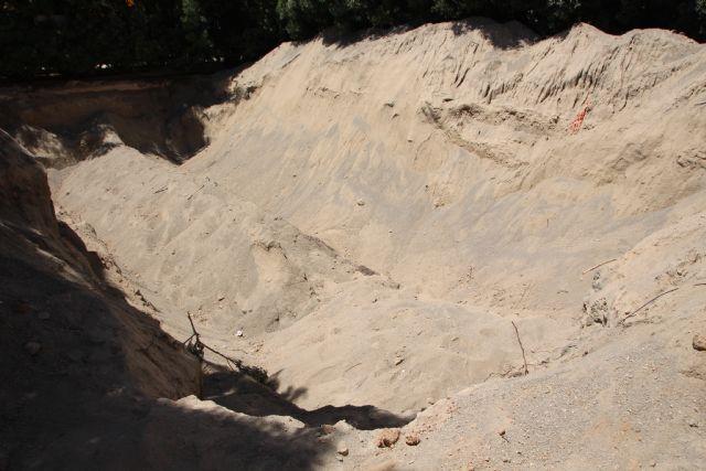 Retirados los depósitos de gas de los jardines de Alhama, Foto 3