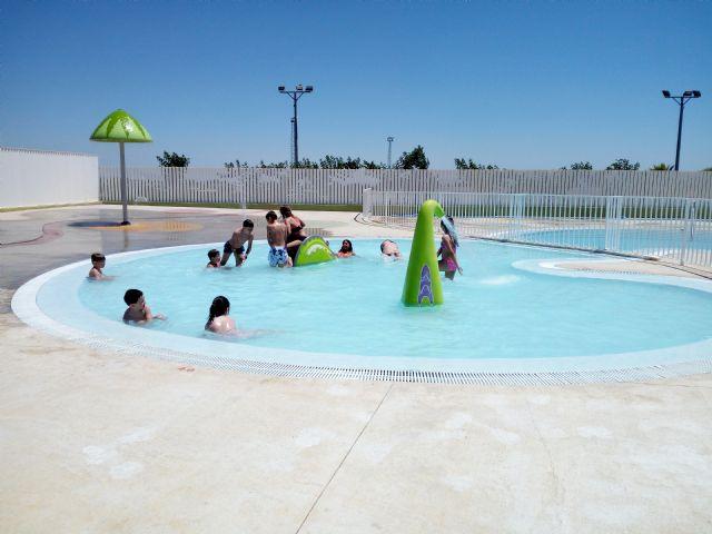 Las piscinas de verano de Puerto Lumbreras abren sus puertas - 2, Foto 2
