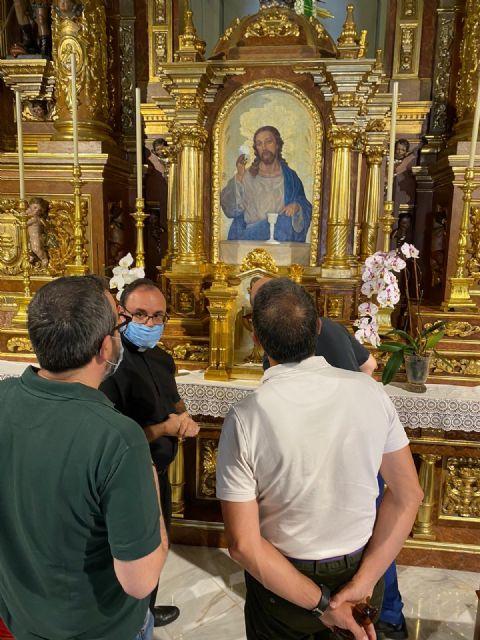 El Centro de Restauración regional evalúa la recuperación de parte del patrimonio artístico del templo de San Francisco Javier - 3, Foto 3