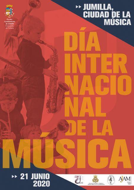 Jumilla celebrará el Día de la Música con actividades online de los colectivos musicales - 1, Foto 1