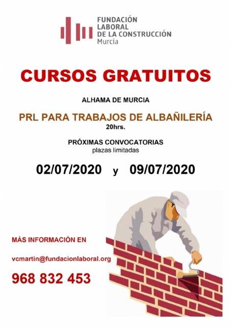 Cursos gratuitos de prevención de riesgos laborales para trabajos de albañilería - 1, Foto 1