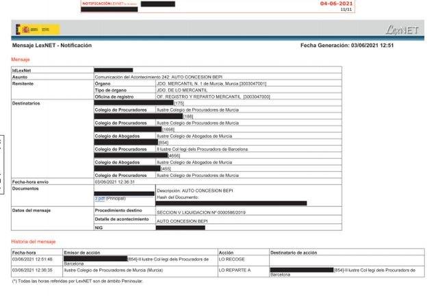Repara tu Deuda cancela 110.122€ con deuda pública en Alhama de Murcia con la Ley de la Segunda Oportunidad - 1, Foto 1