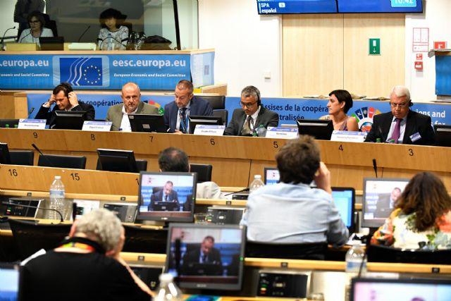 La Comunidad muestra en Bruselas su apuesta por el agua y la agricultura como herramientas de desarrollo - 1, Foto 1