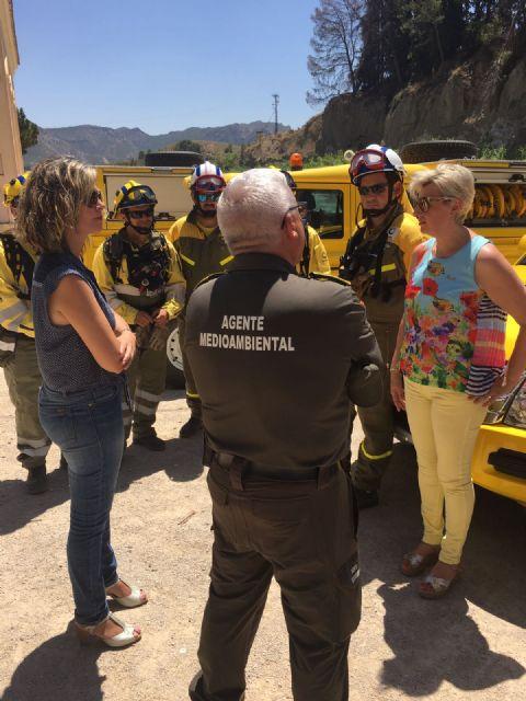 La Comunidad extrema las acciones de detección de incendios en las riberas del río Segura - 1, Foto 1