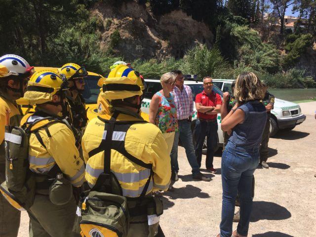 La Comunidad extrema las acciones de detección de incendios en las riberas del río Segura - 2, Foto 2
