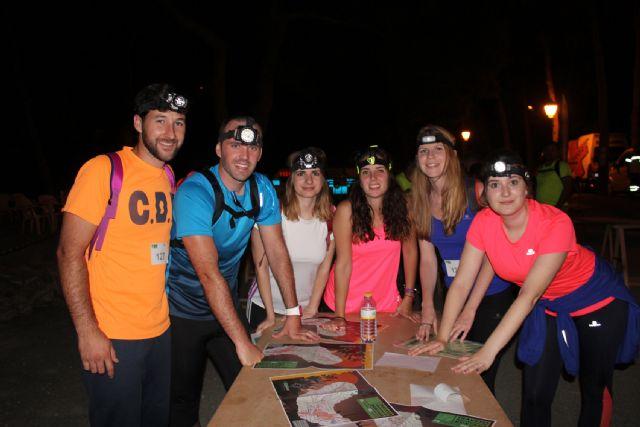 Más de 350 participantes en la tradicional Travesía Nocturna de Montaña lumbrerense - 3, Foto 3