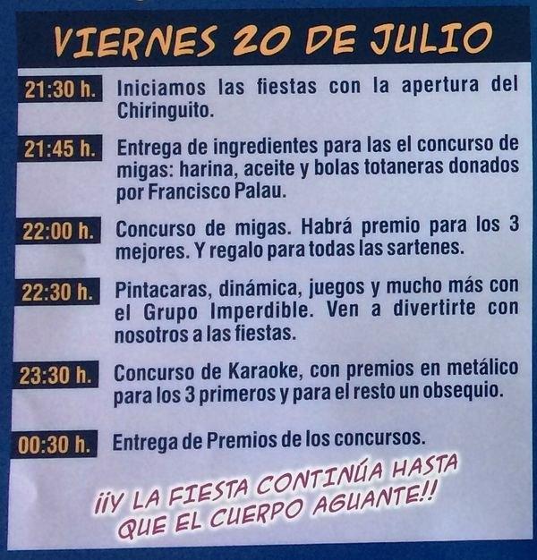 Las fiestas del Raiguero Bajo, en honor de Santiago Apóstol y Santa Ana, se celebran el próximo fin de semana del 20 al 22 de julio - 2, Foto 2