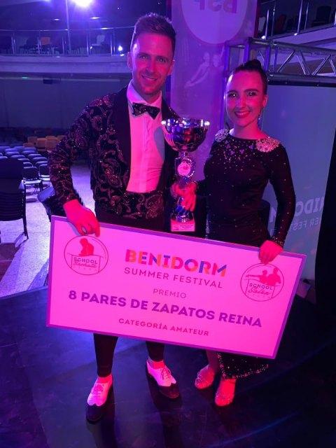 The totaneros Pedro Jesús Legs and María José Galindo triumph at the Benidorm Salsa Congress, Foto 7