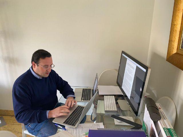 Nombran editor en jefe de la sección de Matemáticas de Symmetry al catedrático de la UPCT García Guirao - 1, Foto 1