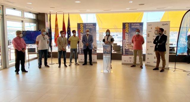 El litoral de Águilas acoge el Campeonato Nacional de Vela Clase Optimist 2020 - 1, Foto 1