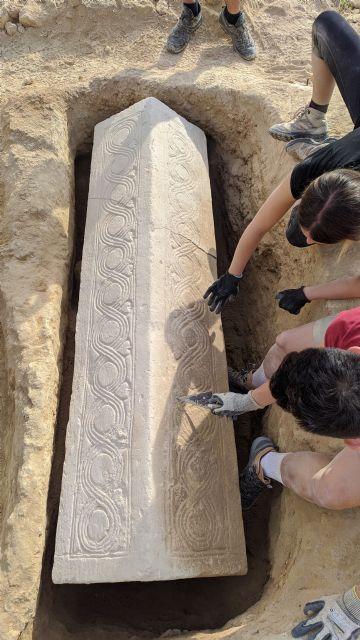 Investigadores de la UMU hallan un sarcófago de época visigoda en la necrópolis romana de Los Villaricos, en Mula - 2, Foto 2