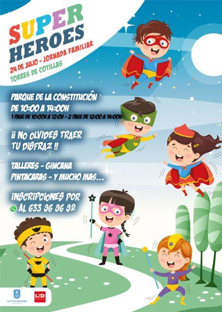 Superhéroes, una jornada familiar de lo más divertida en el Parque de la Constitución - 1, Foto 1