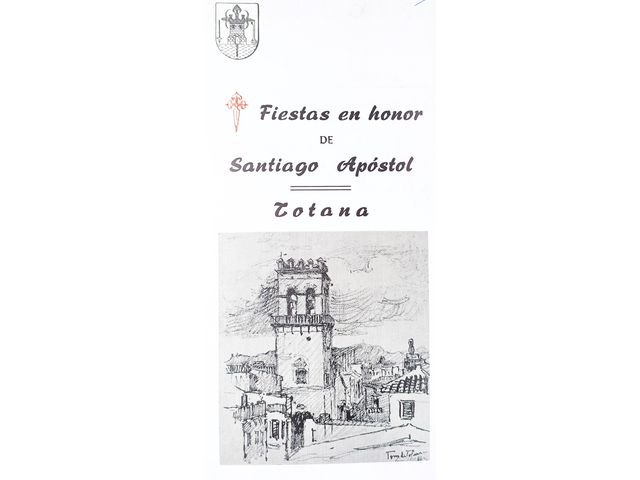 [Totana en las fiestas de Santiago, una celebración que comenzaba su andadura en el año 1972