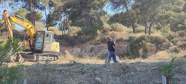 Denuncian que las máquinas excavadoras empiezan a arrasar la pinada de los Cuatro Picos ante la pasividad del Ayuntamiento - 1, Foto 1