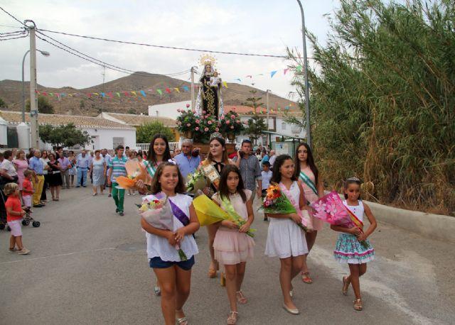 Finalizan las fiestas en honor a la Virgen del Carmen de la pedanía lumbrerense de Góñar - 2, Foto 2