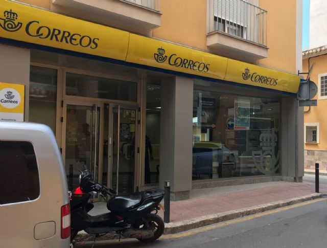 Solutions are requested to the lack of personnel in the staff of Correos in Totana