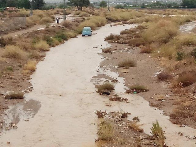El 112 ha recibido hasta las 19:00 horas un total de 62 llamadas relacionadas con el episodio de lluvias y tormentas activo en la Región de Murcia